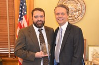 KDOC Staff Member Receives National Award for Work with Other States in Supervising Offenders